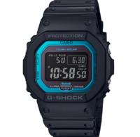 小藍圈 CASIO 卡西歐 G-SHOCK GW-B5600-2 太陽能電波運動手表
