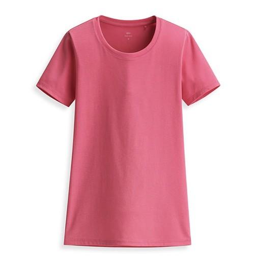 lativ 诚衣 女士Pima 棉罗纹圆领短袖T恤