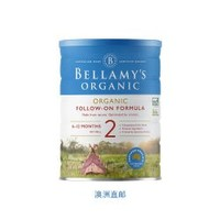 BELLAMY'S 贝拉米 Bellamy's Organic 2段奶粉900克*6罐