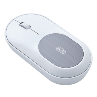 J.ZAO 京东京造 JZ-MS01 2.4G无线蓝牙双模鼠标 (白色、多模、110mm、≤3000dpi)
