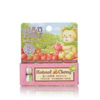 京東PLUS會員 : 咪呢小熊 嬰兒 兒童 潤唇膏4g*2(櫻桃味+無味) *2件