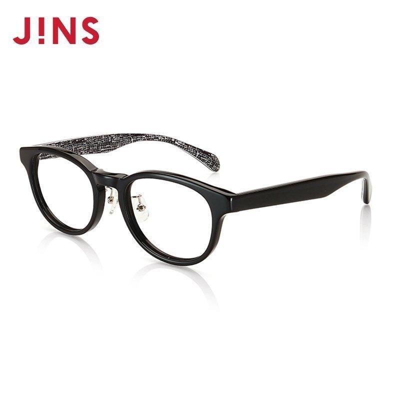 JINS 睛姿 防蓝光 镜框 LCF15A333 近视 镜片