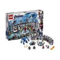 网易考拉黑卡会员:LEGO 乐高 超级英雄系列 76125 钢铁侠机甲陈列室