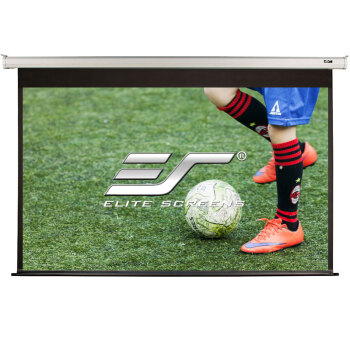 亿立(Elite Screens)103英寸16:10玻纤电动幕布 投影幕布 投影仪幕布 投影幕(JSP103XT-E12 配遥控器)