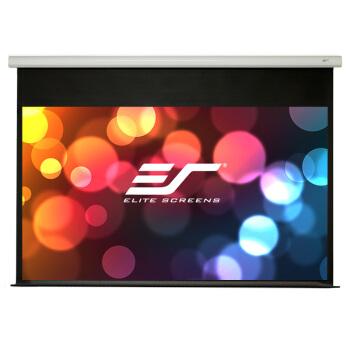 亿立(Elite Screens)100英寸16:9玻纤电动幕布 投影幕布 投影仪幕布 投影幕(PM100HT-E12 支持联动)