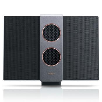明基(BenQ)treVolo S 静电薄膜 蓝牙音箱便携立体声音响(黑色)