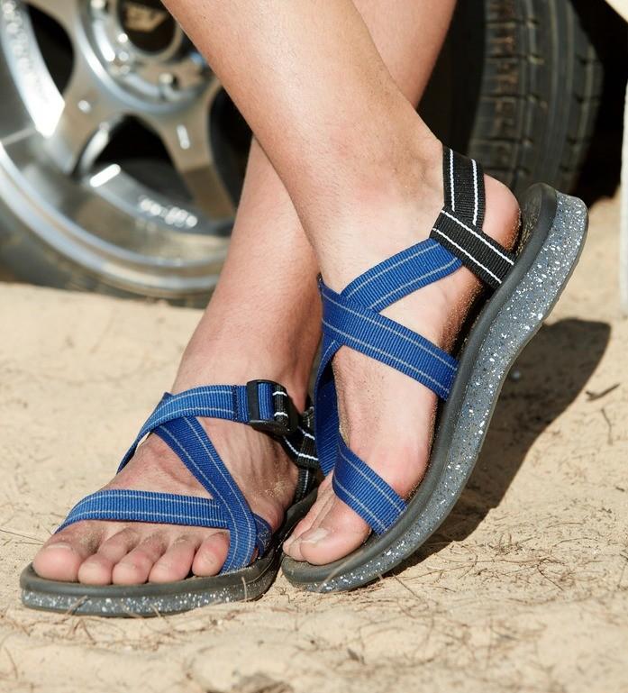 TOREAD 探路者 TFGG81721 男士沙滩凉鞋