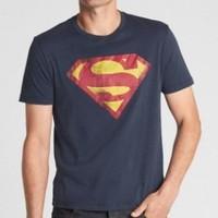 GAP DC?正义者联盟系列 男士超人图案圆领T恤 *3件