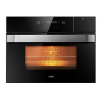 预告:VATTI 华帝 JZKD50-i23003 嵌入式电蒸烤箱 50升