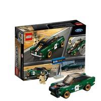 移动专享 : LEGO 乐高 超级赛车系列 75884 福特野马1698款