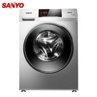 25日0点、历史低价:SANYO 三洋 WF90BHIS565S 9公斤 洗烘一体机