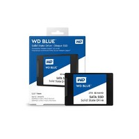 WD 西部数据 Blue系列-3D版 SATA 固态硬盘 2TB(WDS200T2B0A)