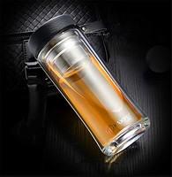 卡沐森 双层高档玻璃杯