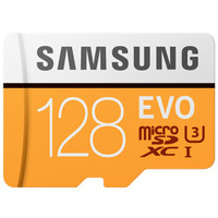 SAMSUNG 三星 EVO 升级版 TF(MicroSD)存储卡 128GB