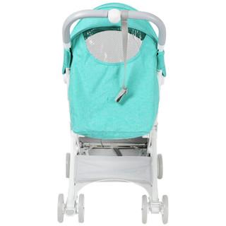 LAMY婴儿车宝宝婴儿推车可坐可躺可上飞机0-3岁高景观bb手推车避震超轻便可折叠伞车 松石绿