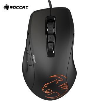 ROCCAT 冰豹 魔幻豹 Kone Pure SEL 有线RGB游戏鼠标 5000DPI