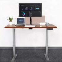 补贴购:Loctek 乐歌 电竞电动升降桌 胡桃木色 1200*600mm