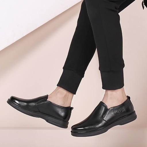 红蜻蜓 WTA7740 男士商务休闲皮鞋