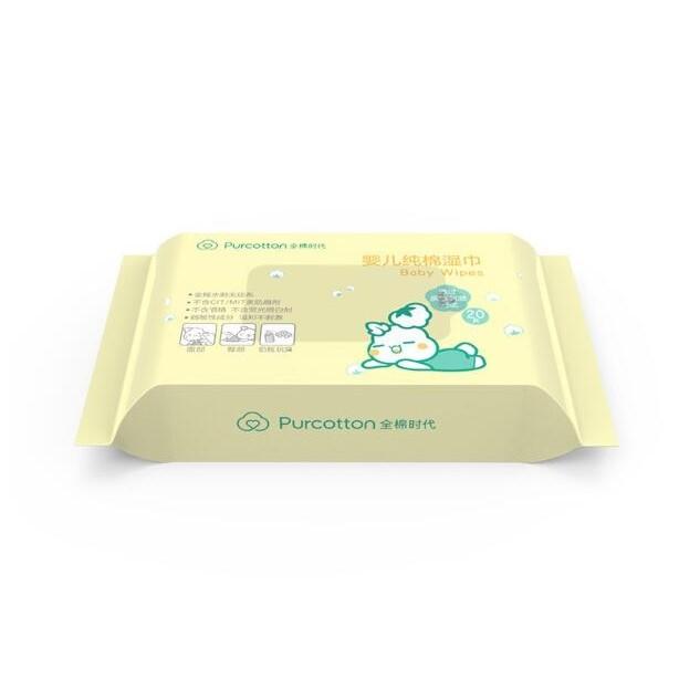 PurCotton 全棉时代 婴儿湿巾 15*20cm 20抽/包
