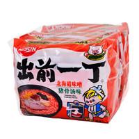 出前一丁 方便面 北海道味增猪骨汤味 100g*5包 *7件