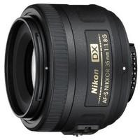 限地区:Nikon 尼康 NIKKON 尼克尔 AF-S DX 35mm f/1.8G 单反镜头