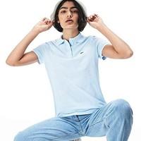 中亚Prime会员:LACOSTE 拉科斯特 女式短袖Polo衫