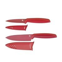 WMF 福腾宝 Red Touch 不锈钢刀具 2件套*2件 *2件
