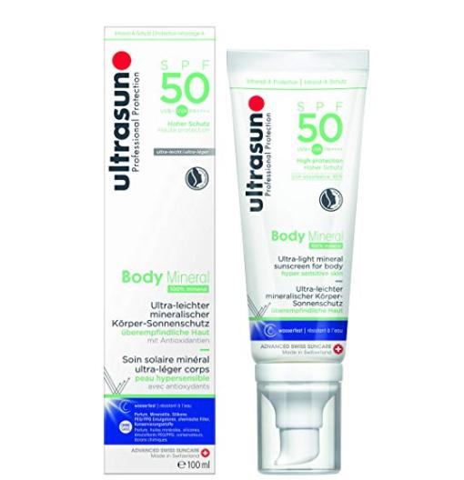 ultrasun U佳 Body Mineral 矿物质身体防晒 SPF50 100ml
