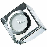 NARUMI 玻璃制品 手表 Cofle迷你時鐘 透明 4cm GW1000-11038