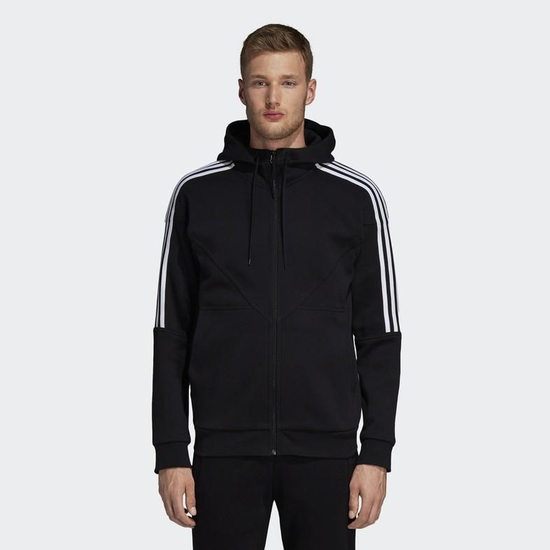 阿迪达斯 adidas 三叶草 NMD HOODY FZ DH2255 男子连帽外套