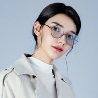 京东PLUS会员:TAPOLE 轻宝眼镜 四分之三 钛合金复古镜框