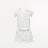 Les enphants 麗嬰房 兒童純棉短袖內衣套裝