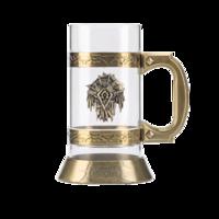 魔獸世界部落徽記 啤酒杯