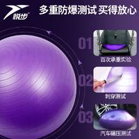 悅步 健身瑜伽球 55cm 送瑜伽球23cm 配件5件套