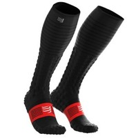 compressport CS-FSV3 馬拉松越野跑步競賽恢復長筒襪
