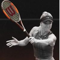 Wilson 威尔胜 WRT212900 BURN系列高强度碳铝合金超轻青少年网球拍