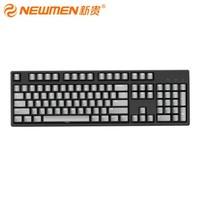 NEWMEN 新貴 C104 機械鍵盤(Cherry紅軸、PBT)