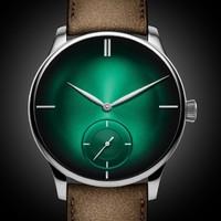 京东PLUS会员 : H. Moser & Cie 亨利慕時 冒险者 2327-0209 男士机械腕表
