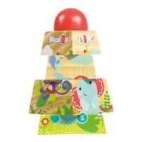 Fisher-Price 费雪 益智积木玩具 小动物叠塔 FP1010 *3件