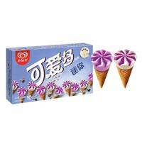 限地区、京东PLUS会员:和?#36153;?迷你可爱多甜筒 蓝莓酸奶口味 20g*10支 *11件
