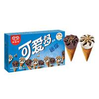 限地区、京东PLUS会员:WALL'S 和?#36153;?香草&巧克力口味 迷你可爱多甜筒 10支装 200g *11件