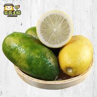 现摘现发2斤装台湾香水柠檬应季水果无籽柠檬