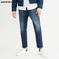 JACK JONES 杰克琼斯 218132550 男士九分牛仔裤