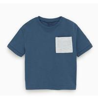 ZARA 03337410400 儿童口袋基本款T恤