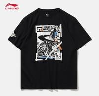 LI-NING 李寧 迪士尼星戰聯名款 AHSP733 短袖T恤