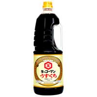 龟甲万 淡口酱油 1.8L