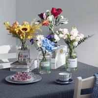 REFLOWER 花点时间 自然·混合 鲜花订阅 包月鲜花 订一个月 共5束
