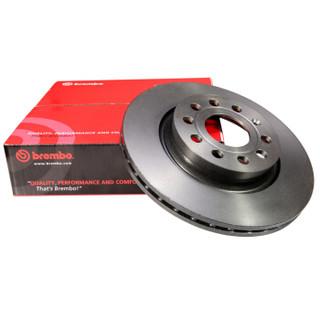 布雷博(Brembo)高碳刹车盘 单只装 后盘 需购买2只 标致307