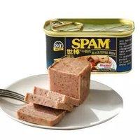 SPAM 世棒 午餐肉罐头 黑椒口味198g