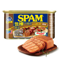 SPAM 世棒 午餐肉罐头 蒜香口味 198g *14件